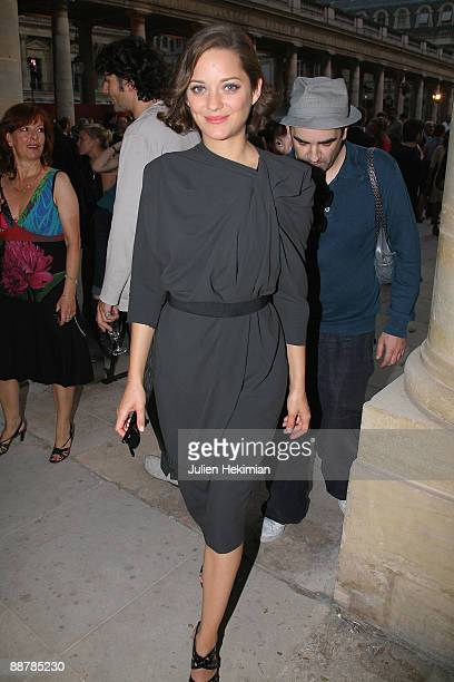 Marion Cotillard attends the 25th edition of 'La fete du cinema' at Ministere de la Culture on June 30 2009 in Paris France