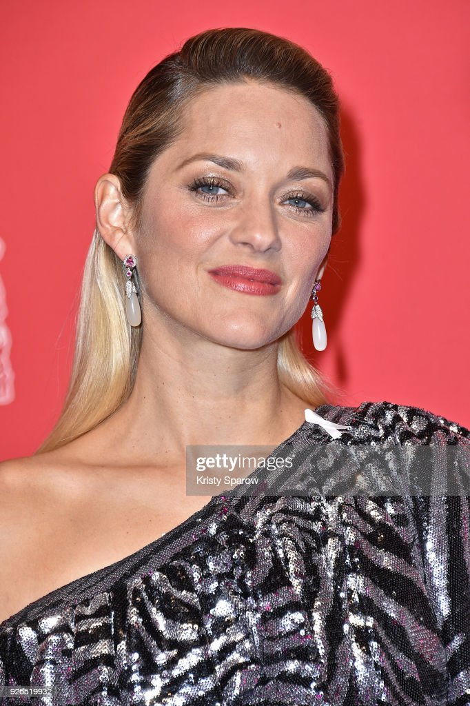 Marion Cotillard attends the 43rd Cesar Film Awards at Salle Pleyel on March 2, 2018 in Paris, France.