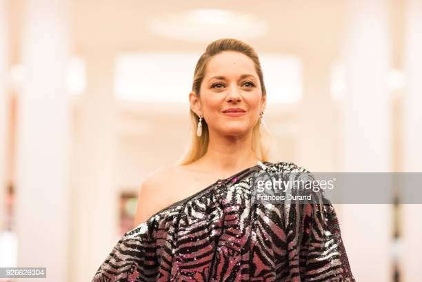 Marion Cotillard attends the 43rd Cesar Film Awards at Salle Pleyel on March 2 2018 in Paris France