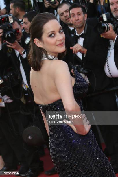 Marion Cotillard attends the 70th anniversary event during the 70th annual Cannes Film Festival at Palais des Festivals on May 23, 2017 in Cannes,...
