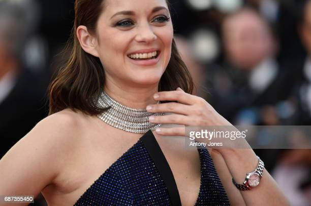 Marion Cotillard attends the 70th Anniversary of the 70th annual Cannes Film Festival at Palais des Festivals on May 23 2017 in Cannes France
