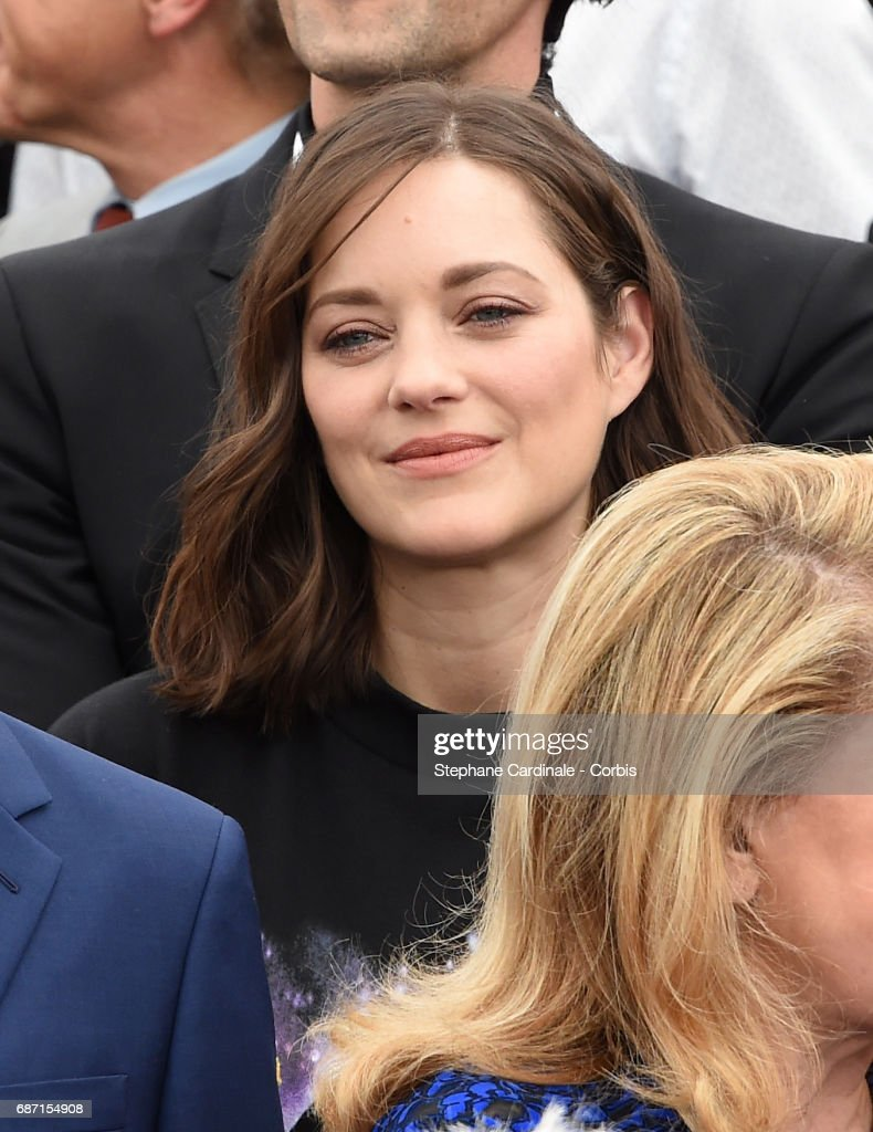 Marion Cotillard attends the 70th Anniversary photocall during the 70th annual Cannes Film Festival at Palais des Festivals on May 23, 2017 in Cannes, France.