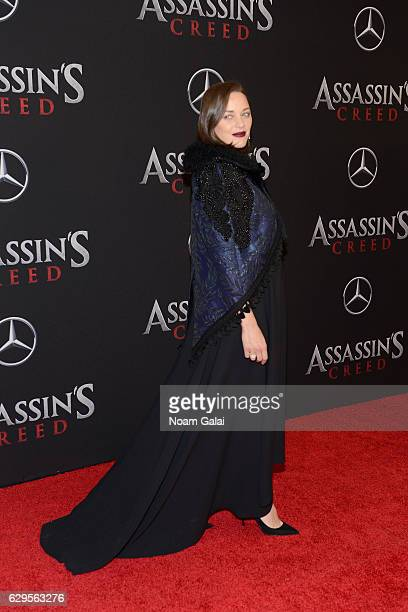 Marion Cotillard attends the 'Assassin's Creed' New York Premiere at AMC Empire 25 theater on December 13 2016 in New York City