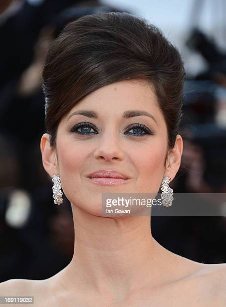 Marion Cotillard attends the 'Blood Ties' Premiere during the 66th Annual Cannes Film Festival at Grand Theatre Lumiere on May 20 2013 in Cannes...