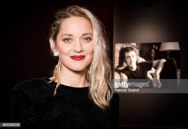 Marion Cotillard attends the 'Cesar Revelations 2018' party at Le Petit Palais on January 15 2018 in Paris France