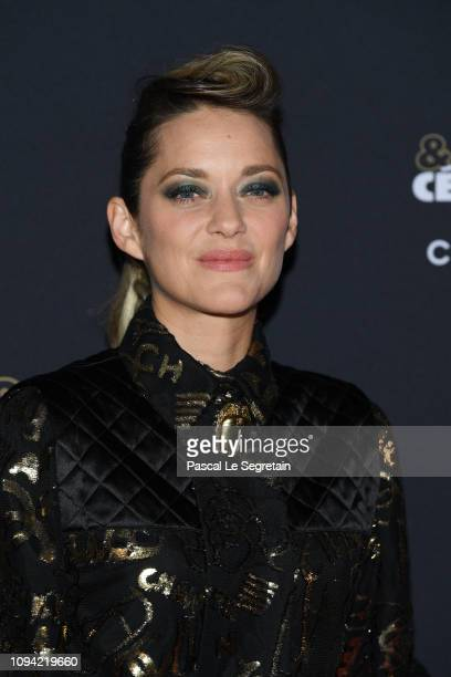 Marion Cotillard attends the 'Cesar Revelations 2019' at Le Petit Palais on January 14 2019 in Paris France