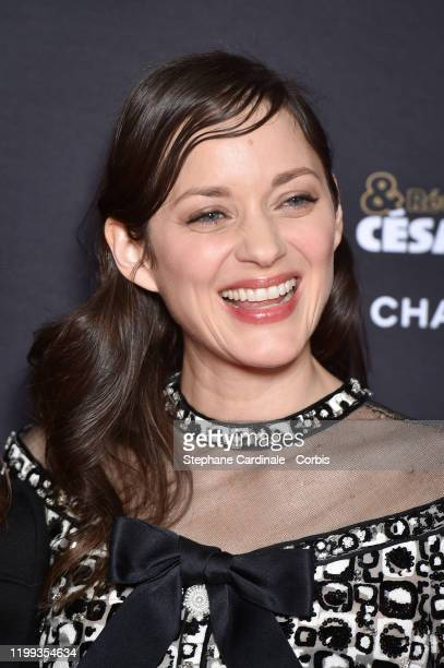 "Marion Cotillard attends the ""Cesar - Revelations 2020"" Photocall at Petit Palais on January 13, 2020 in Paris, France."