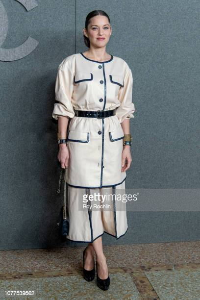 Marion Cotillard attends the Chanel Metiers D'Art 2018/19 Show at The Metropolitan Museum of Art on December 04, 2018 in New York City.