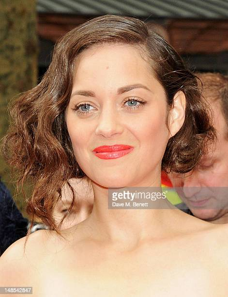 Marion Cotillard attends the European Premiere of 'The Dark Knight Rises' at Odeon Leicester Square on July 18 2012 in London England
