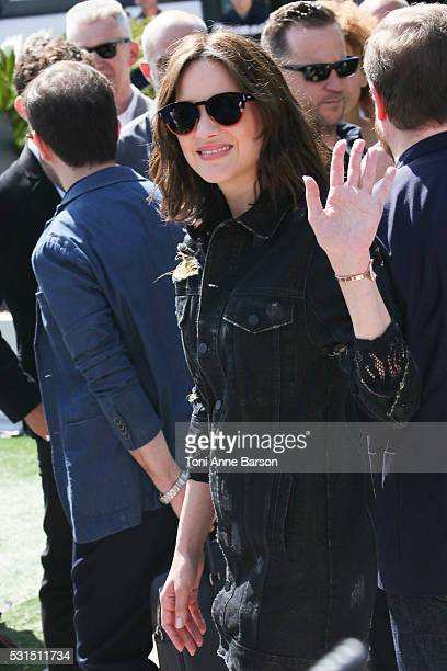 Marion Cotillard attends the From The Land And The Moon Photocall during the 69th annual Cannes Film Festival on May 15 2016 in Cannes France