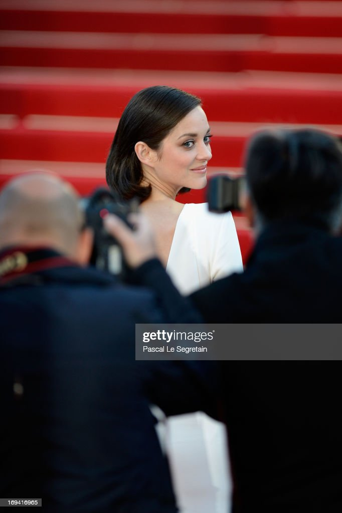 Marion Cotillard attends 'The Immigrant' Premiere during the 66th Annual Cannes Film Festival at Grand Theatre Lumiere on May 24, 2013 in Cannes, France.