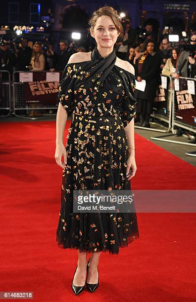 Marion Cotillard attends the 'It's Only The End Of The World' BFI Flare Special Presentation screening during the 60th BFI London Film Festival at...
