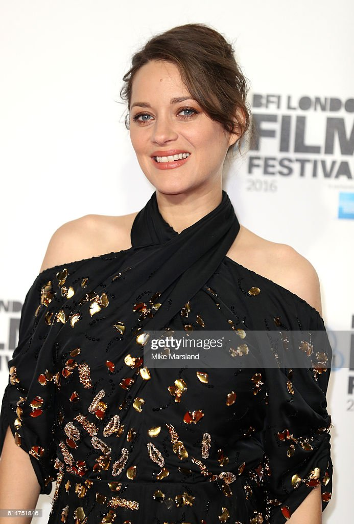 Marion Cotillard attends the 'It's Only The End Of The World' BFI Flare Special Presentation screening during the 60th BFI London Film Festival at Odeon Leicester Square on October 14, 2016 in London, England.