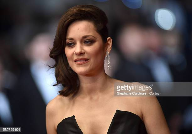 Marion Cotillard attends the It's Only The End Of The World Premiere during the 69th annual Cannes Film Festival at the Palais des Festivals on May...