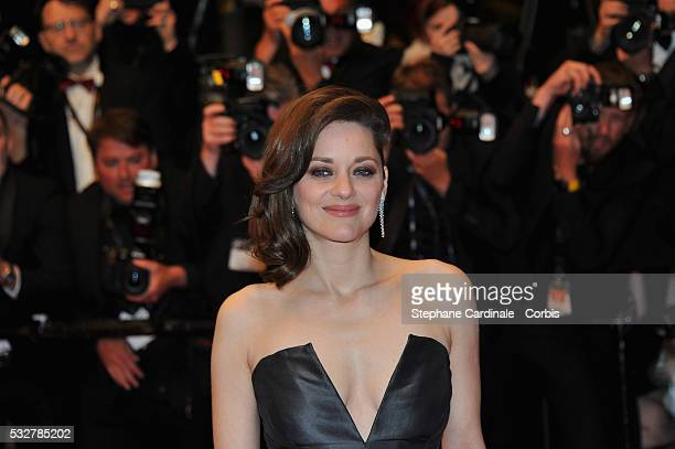 """Marion Cotillard attends the """"It's Only The End Of The World """" Premiere during the 69th annual Cannes Film Festival at the Palais des Festivals on..."""