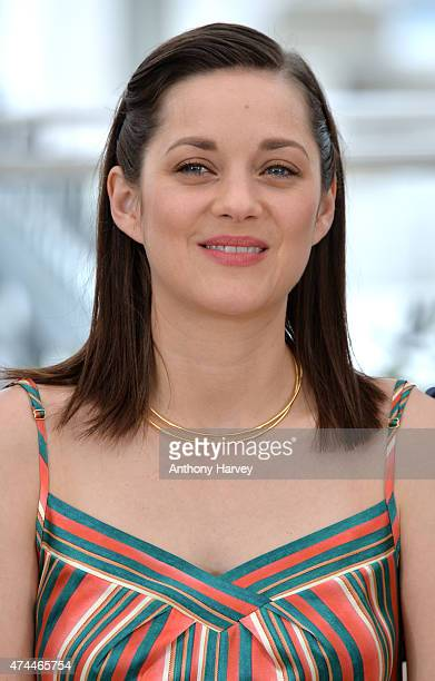 Marion Cotillard attends the 'Macbeth' photocall during the 68th annual Cannes Film Festival on May 23 2015 in Cannes France