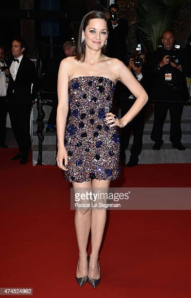 Marion Cotillard attends the 'Macbeth' Premiere during the 68th annual Cannes Film Festival on May 23 2015 in Cannes France