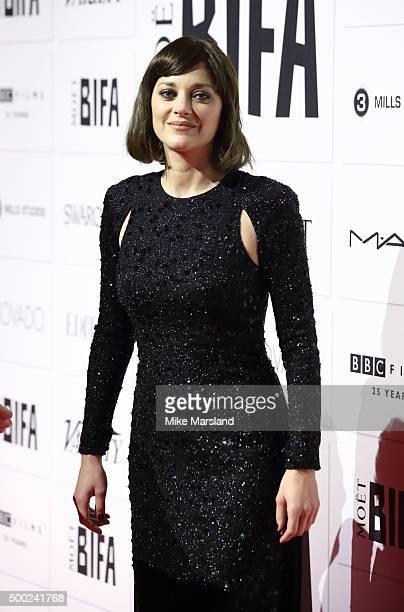 Marion Cotillard attends the Moet British Independent Film Awards at Old Billingsgate Market on December 6 2015 in London England