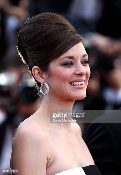 Marion Cotillard attends the Premiere of 'Blood Ties' during the 66th Annual Cannes Film Festival at the Palais des Festivals on May 20 2013 in...