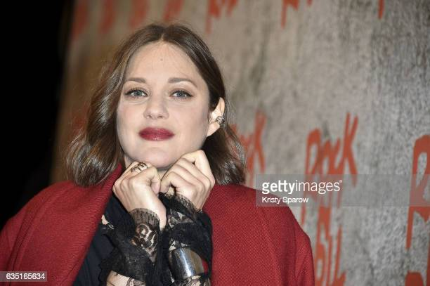 Marion Cotillard attends the 'Rock'N Roll' Premiere at Cinema Pathe Beaugrenelle on February 13 2017 in Paris France