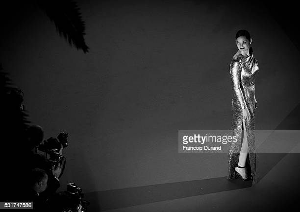 Marion Cotillard attends the screening of From The Land And The Moon at the annual 69th Cannes Film Festival at Palais des Festivals on May 15 2016...