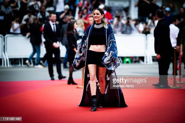 Marion Cotillard attends the screening of Matthias Et Maxime during the 72nd annual Cannes Film Festival on May 22 2019 in Cannes France