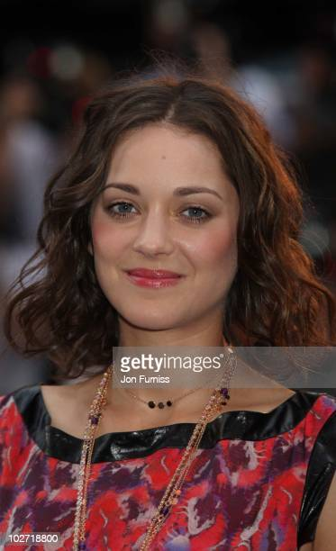 Marion Cotillard attends the World Premiere of 'Inception' at Odeon Leicester Square on July 8, 2010 in London, England.