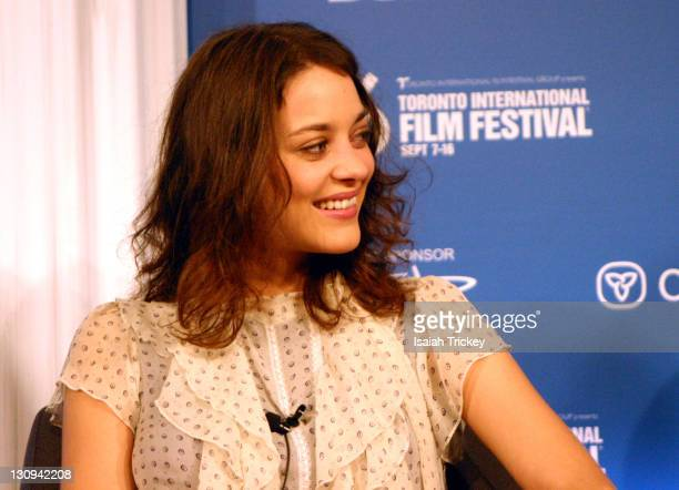 Marion Cotillard during 31st Annual Toronto International Film Festival 'A Good Year' Press Conference at Sutton Place Hotel in Toronto Ontario Canada