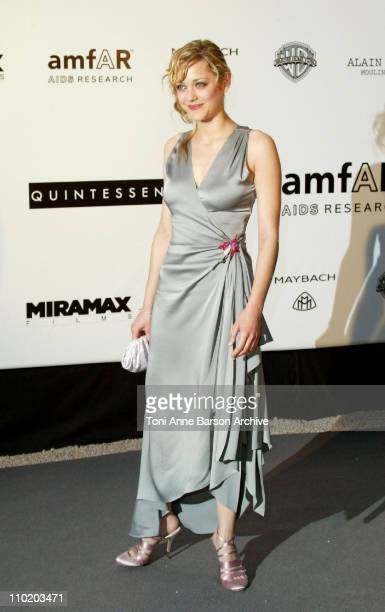 """Marion Cotillard during amfAR's """"Cinema Against AIDS Cannes"""" Benefit Sponsored by Miramax and Quintessentially - Arrivals at Moulin De Mougins in..."""