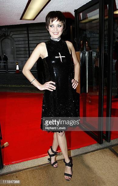 Marion Cotillard during La Mome London Premiere Arrivals at Curzon Mayfair in London Great Britain