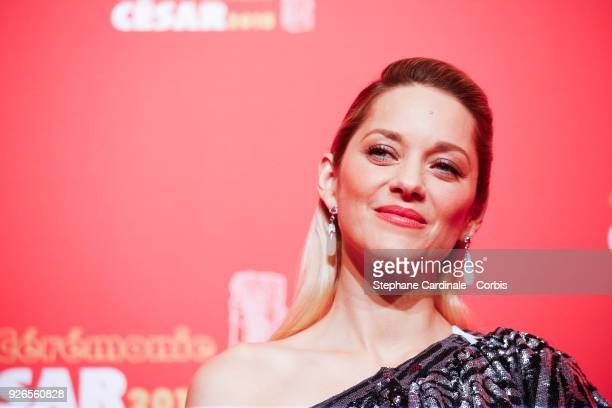Marion Cotillard during the Cesar Film Awards at Salle Pleyel on March 2 2018 in Paris France