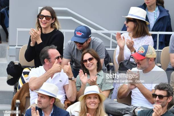 Marion Cotillard Guillaume Canet Elsa Zylberstein Jean Dujardin Nathalie Pechalat Gilles Lellouche Clovis Cornillac and Lilou Fogli attend the 2019...