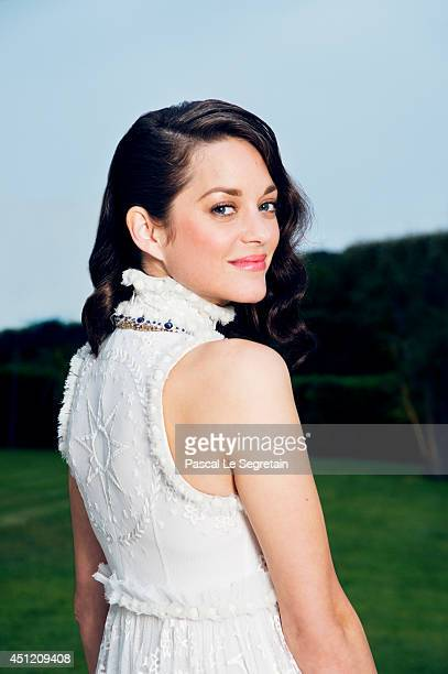 Marion Cotillard is photographed at AmfAR's 21st Cinema Against AIDS Gala on May 22 2014 in Cap d'Antibes France