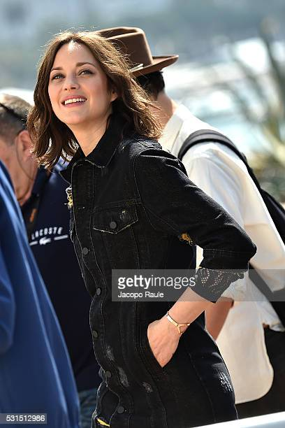 Marion Cotillard is seen during the annual 69th Cannes Film Festival at on May 15 2016 in Cannes France