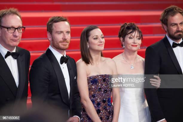 Marion Cotillard lors de la première du film 'Macbeth' pendant le 68eme Festival du Film Annuel au Palais des Festivals le 23 mai 2015 Cannes France