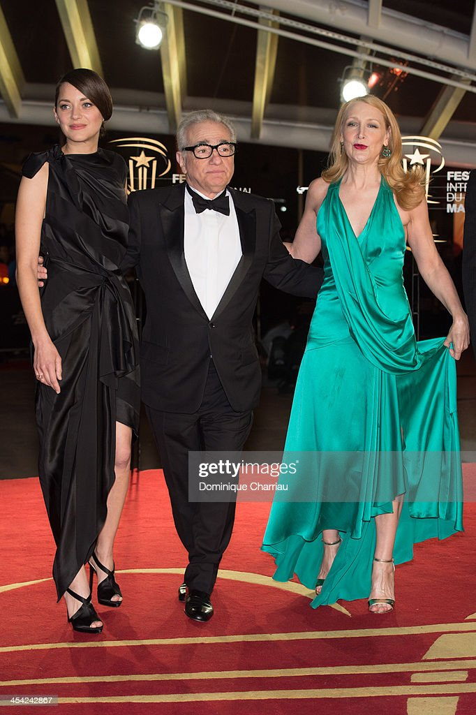 Marion Cotillard, Martin Scorsese and Patricia Clarkson attend the Award Ceremony of the 13th Marrakech International Film Festival attend the award Ceremony 2013' At 13th Marrakech International Film Festival on December 7, 2013 in Marrakech, Morocco.