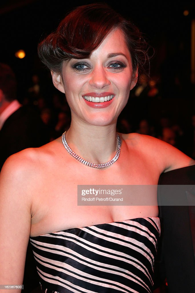 Marion Cotillard poses prior to the Cesar Film Awards 2013 at Theatre du Chatelet on February 22, 2013 in Paris, France.