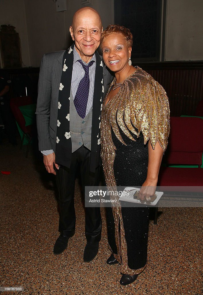 Marion Cowings and Antoinette Montague attend the Duke Ellington Center For The Arts 'Ring Dem Bells!' Holiday Party at Landmark on the Park on December 10, 2012 in New York City.