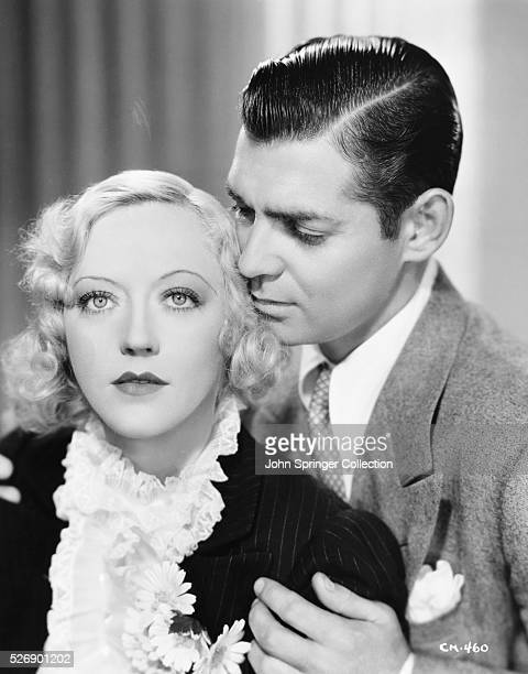 Marion Davies as Mabel O'Dare and Clark Gable as Larry Cain in the 1936 film Cain and Mabel