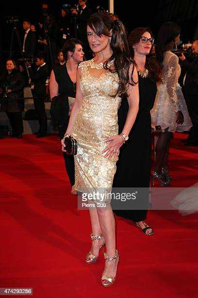 "Marion Dumas attends the Premiere of ""Nie Yinniang"" during the 68th annual Cannes Film Festival on May 21, 2015 in Cannes, France."