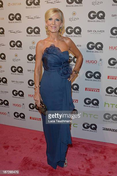 Marion Fedder arrives at the GQ Men of the Year Award at Komische Oper on November 7 2013 in Berlin Germany
