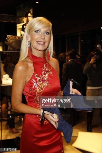 Marion Fedder at the Opening Of The Giorgio Armani and Emporio Armani boutiques in the High bleaching in Hamburg