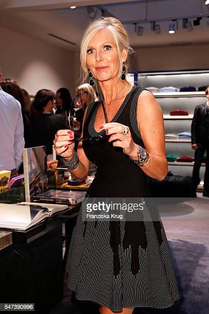 Marion Fedder attends the Apropos Menswear Store Opening in Hamburg on July 14 2016 in Hamburg Germany
