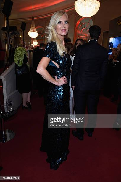 Marion Fedder attends the GQ Men of the year Award 2015 after show party at Komische Oper on November 5 2015 in Berlin Germany