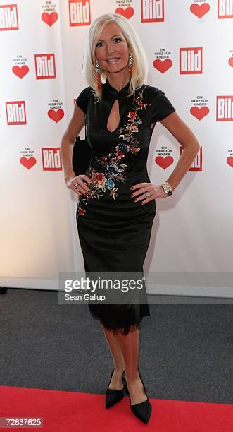 Marion Fedder attends the Herz fuer Kinder charity gala at Axel Springer Haus December 16, 2006 in Berlin, Germany.