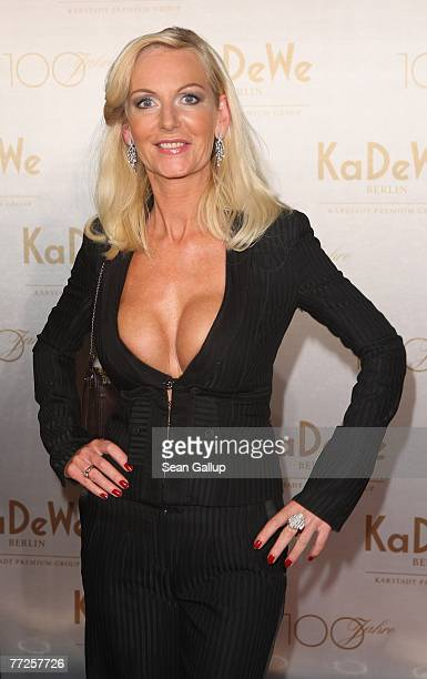 Marion Fedder attends the KaDeWe department store 100th birthday celebration October 10 2007 in Berlin Germany
