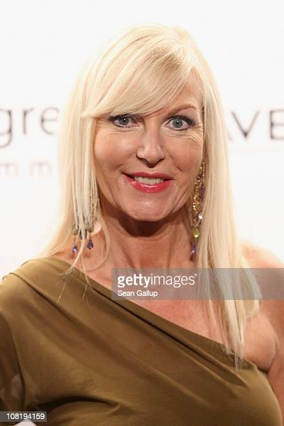 Marion Fedder attends the Mongrels in Common Show during the Mercedes Benz Fashion Week Autumn/Winter 2011 at Altes Stadthaus on January 20 2011 in...