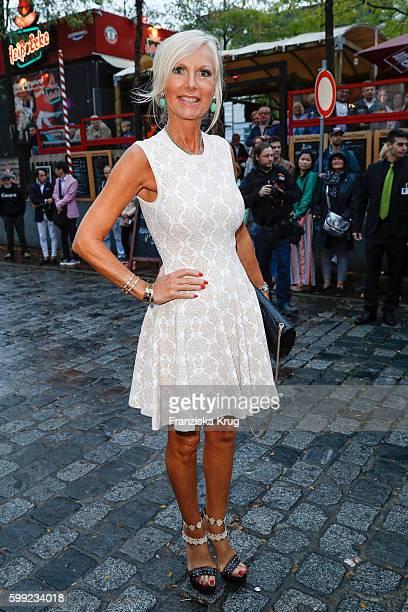 Marion Fedder attends the 'Nacht der Legenden' at Schmidts Tivoli on September 04 2016 in Hamburg Germany