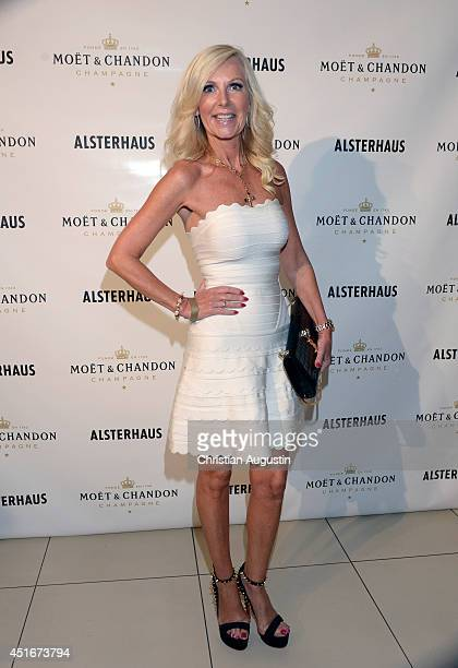 Marion Fedder attends the the Moet Chandon Ice Imperial Summer Bash at Alsterhaus on July 3 2014 in Hamburg Germany