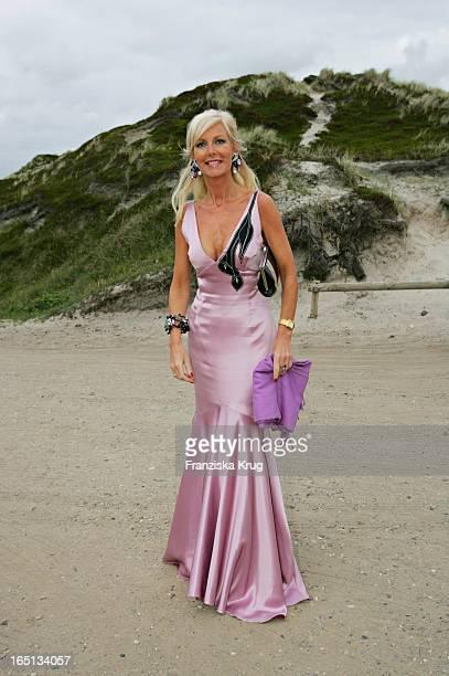Marion Fedder Beim Empfang In Der Sansibar Am Abend Nach Der Kirchlichen Hochzeit Von Stich In Rantum Auf Sylt Am 110605
